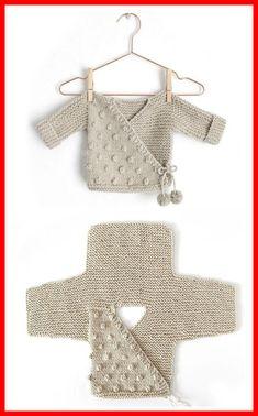 Kimono Jacket - Free Pattern (Beautiful Skills - Crochet Knitting Quilting) - K., anleitungen kostenlos baby jacke Kimono Jacket - Free Pattern (Beautiful Skills - Crochet Knitting Quilting) - K. Baby Knitting Patterns, Knitting For Kids, Baby Patterns, Free Knitting, Knitting Projects, Crochet Projects, Crochet Patterns, Diy Projects, Crochet Ideas