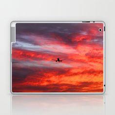 07105d94116a Fire Landing Laptop   iPad Skin by JuliaApostolova -  25.00 Rhodes