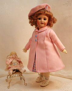 Millefleurs Dress Plus Coat and beret ~ G-L ~ Bleuette