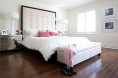 diy headboards for king size beds   King Size Headboard Ideas Design Ideas, Pictures, Remodel, and Decor