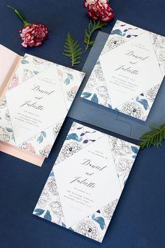 Creative Wedding Invitations, Botanical Wedding Invitations, Wedding Invitation Inspiration, Save The Date, Peonies, Rustic Wedding, Weddings, Invitations, Wedding