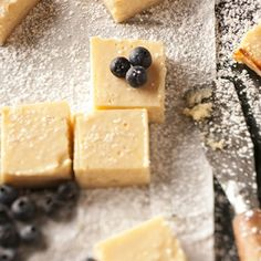 Luscious Lemon Bars - creamy squares with that perfect balance of sweet and tart.