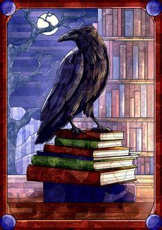 Raven by helidge on DeviantArt