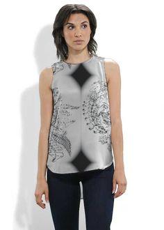 Make a statement with this gorgeous top designed by Kosana Troughton.  #shopvida #vidavoices
