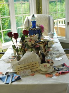Miss Party Smarty's Mad Tea Party - Head Table
