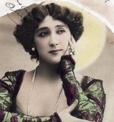 la+belle+otero | ... アンティーク ポストカード*美しい女性 La Belle Otero