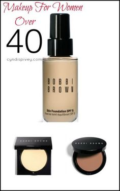 Bobbi Brown-Makeup for Women Over 40