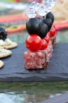 Antipasto Appetizers....plus 2 more Quick Appetizers perfect for any party in under 15 minutes. #15MinuteSuppers