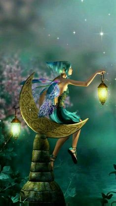 Pin by Kelsey Johnson on Art t Fairy Illustrations and Fantasy Kunst, Fantasy Art, Fairy Wallpaper, Moon Fairy, Fairy Pictures, Beautiful Fairies, Angel Art, Fairy Art, Magical Creatures
