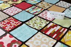 Saltwater Quilts: Mini Charm Pack Project