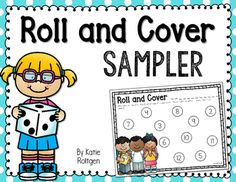 FREE Roll and Cover Math Activity - Use this freebie with your Kindergarten or 1st grade classroom or home school students. It's the perfect way to work on basic number skills during your math centers or stations, small group work, partner activities, and more. Make sure to grab your copy today!