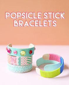 Popsicle Stick Brace