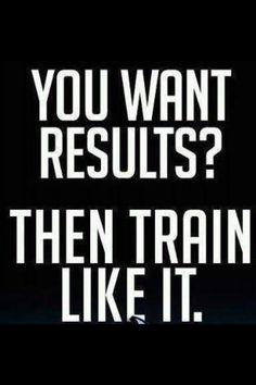 Train like it.