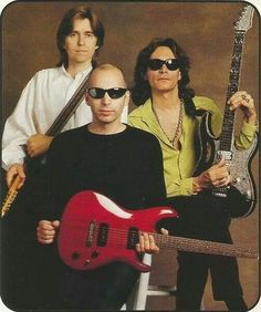 Eric Johnson, Joe Satriani and Steve Vai. G3, 1996