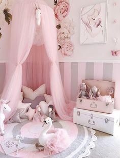 Crown lit baldaquin moustiquaire grands fits pour lit bébé conçu avec bow /& coeurs