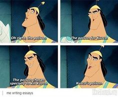 How I write essays