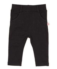 Black Jersey Jeans