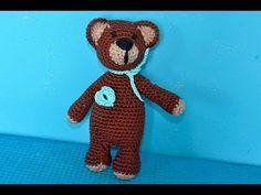 """▶ Häkeln * Super Easy Teddybär """"eliZZZa"""" * Teil 1 * Amigurumi - YouTube"""