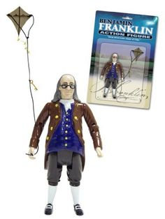 Ben Franklin Action Figure by Accoutrements, http://www.amazon.com/dp/B0006FU92S/ref=cm_sw_r_pi_dp_v25-pb02KZ0BT