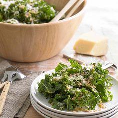 Raw Tuscan Kale Salad with Pecorino