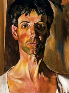 Stanley Spencer (British 1891–1959) Self-portrait, 1936.