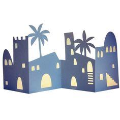 "<p> <span style=""color: rgb(105, 105, 105); font-size: 14px;"">Bethlehem papercut </span><span style=""color: rgb(105, 105, 105); font-size: 14px;"">3D accordion fold card. </span></p>"