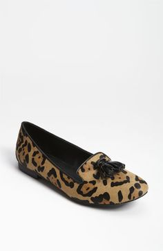 Steve Madden 'Chaufur' Flat available at #Nordstrom (And a little leopard for you Mommy!)