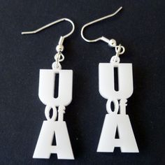 University of Arizona Earrings by CathysUniqueCreation U of A Wildcats