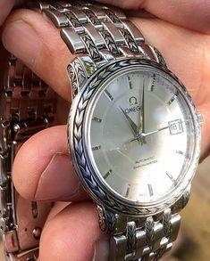 Vintage Omega, Vintage Rolex, Vintage Watches, Watch Engraving, Hand Engraving, Rolex Watches, Watches For Men, Omega Watch, Bracelet Watch