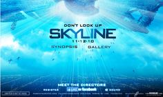 Skyline Looking Up, Skyline, Gallery, Movies, Movie Posters, Stuff Stuff, Roof Rack, Films, Film Poster