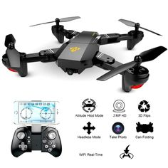 Cheap drones with camera hd, Buy Quality drone with directly from China drone with camera Suppliers: VISUO Foldable Drone with Camera HD Wide Angle WIFI FPV Altitude Hold RC Quadcopter Helicopter VS Dron Hd Camera, Android Camera, Camera Apps, Camera Angle, Chevrolet Corvette, Corvette Cabrio, Drone Rc, Drone Quadcopter, Ferrari 348
