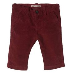 His first Bonpoint corduroy trouser