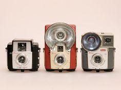 Kodak Brownie's: Starlet, Starflash & Starmite by siimvahur, via Flickr