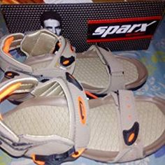 29033c53c Sparx Men s Black and Red Athletic and Outdoor Sandals - 10 UK India(44.67