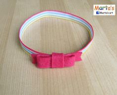 rubber headband for a baby girl