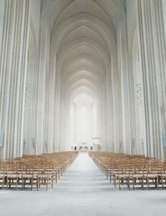 Unreachable Interior. Grundtvig's Church in Denmark