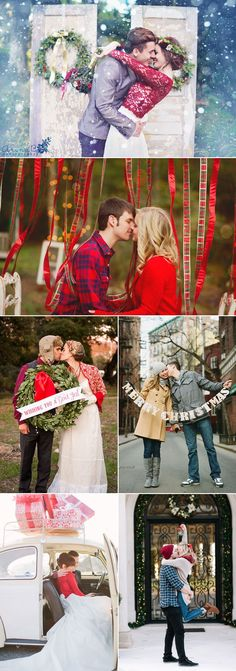 20 Cute Christmas Photo Ideas for Couples to Show Love!
