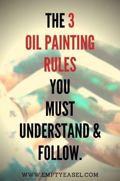 Oil Painting Basics, Oil Painting Trees, Oil Painting Lessons, Realistic Oil Painting, Oil Painting For Beginners, Oil Painting Techniques, Oil Painting Abstract, Painting Tips, Oil Paintings