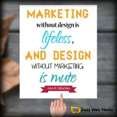 #DesignMarketing   Without proper consideration of your #MarketingGoals, the best designs can fail #VonGlitschka #designtips #designquotes #art #bizquotes #marketingquotes