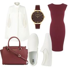 Elegant by sch-csilla on Polyvore featuring polyvore, fashion, style, Miss Selfridge, Harrods, Uniqlo, MICHAEL Michael Kors, Olivia Burton, white and Elegant Olivia Burton, Harrods, Uniqlo, Miss Selfridge, Polyvore Fashion, Michael Kors, Shoe Bag, Elegant, Stuff To Buy