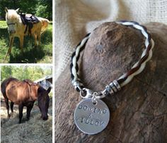 Would you love to have a lasting keepsake of a treasured equine friend to cherish forever? Braided Tails offers custom made #horsehair bracelets, necklaces, key chains, and more. They make wonderful gifts as well as a meaningful remembrance.
