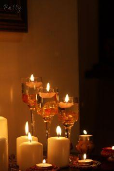 Diwali candles