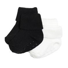 4.95e 13/15 2-pakkaus sukkia, Musta, Baby 44-86 cm, Lapset | Lindex