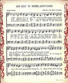 Vintage sheet music image - other great images in this set too!