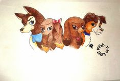 Scooby, Jenna, Beanca and Dodger (FTLPS)