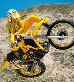 Ricky Johnson on the 1984 YZ250
