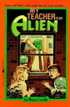 My Teacher is an Alien - Childhood Books 90s Childhood, My Childhood Memories, 90s Girl, 90s Nostalgia, Ol Days, My Teacher, Teacher Books, The Good Old Days, Book Lovers
