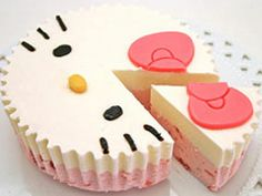 Hello Kitty cake  #cute #kawaii #cake #sweet #hellokitty #food