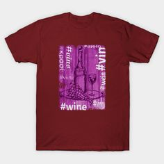 Shop Hashtag Wine wine t-shirts designed by hoganfinland as well as other wine merchandise at TeePublic. Wine Refrigerator, Wine Fridge, Paso Robles Wineries, Buy Wine Online, Cool Notebooks, Wine Baskets, Wine Case, Wine Parties, Wine