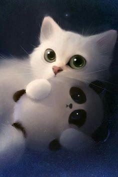 Cats and kittens, white kittens, kittens cutest, cute cat wallpaper, mobile wallpaper Cat Phone Wallpaper, Cute Panda Wallpaper, Cute Disney Wallpaper, Cute Cartoon Wallpapers, Cute Wallpaper Backgrounds, Animal Wallpaper, Mobile Wallpaper, Phone Wallpapers, Wallpaper Ideas